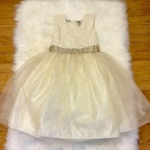 Little Girls Lace & Layered Dress size 10